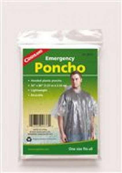 Emergency poncho clear