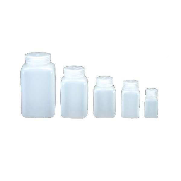 Wide mouth square bottle 250ml