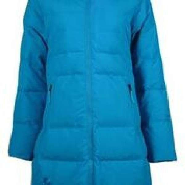 Long down jacket m dames