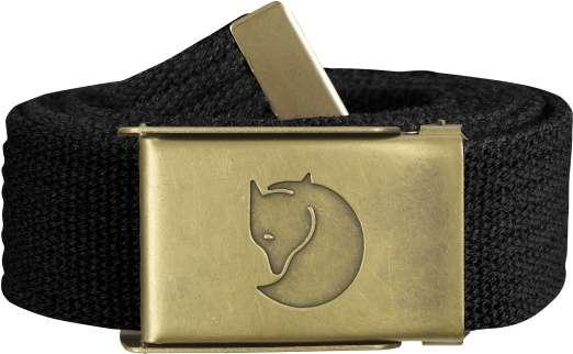 Canvas Brass Belt 3 cm.