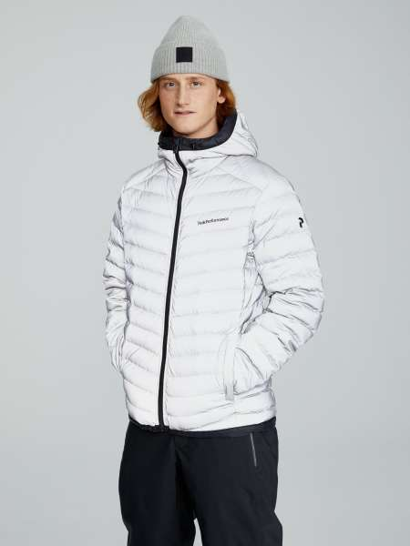Frost reflective down jacket