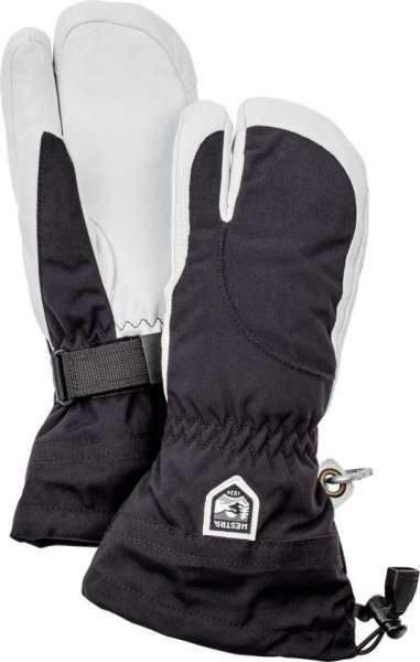 Army leather heli ski 3 fingers