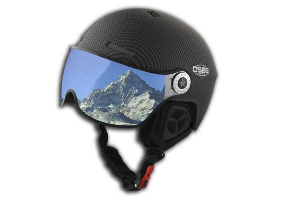 Helm aire visor carbon look